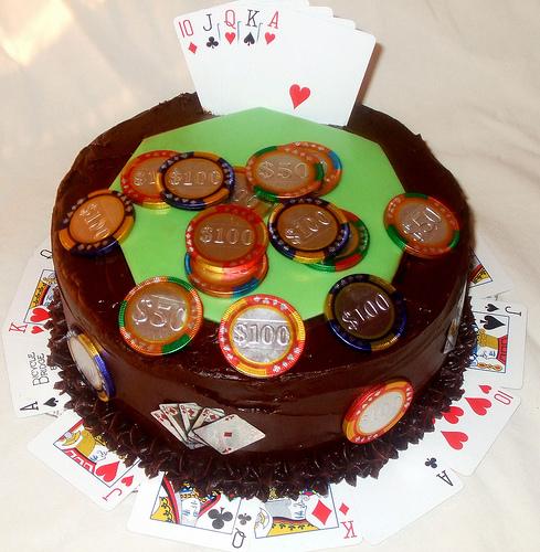 Покерное поздравление с днем рождения 76