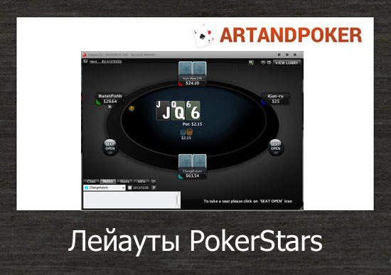 Лейауты PokerStars