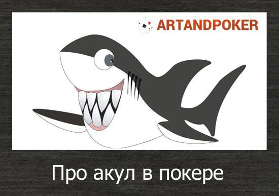 Стих про акул в покере