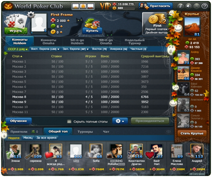 Обзор World Poker Club