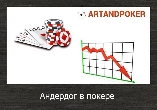 Андердог в покере