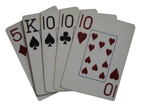 карты пара трипс покер