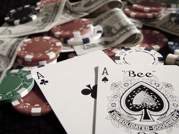 Интересная раздача покер