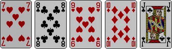 Коннекторы в покере, играбельность этих рук, валет десять.