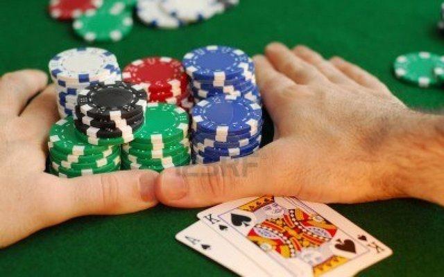 олл-ин покер пот
