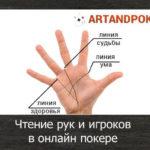 Чтение рук и игроков в онлайн покере