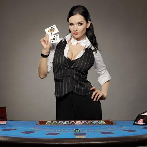 дилера в казино