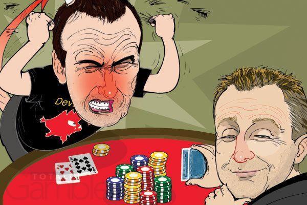 профессионала покера блеф