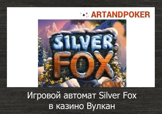 Игровой автомат Silver Fox в казино Вулкан