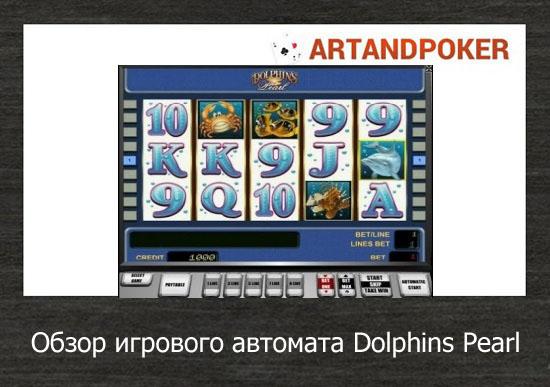 Обзор игрового автомата Dolphins Pearl