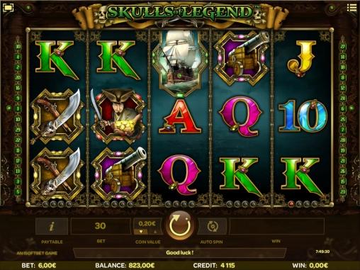Базовые изображения пираты игрового автомата