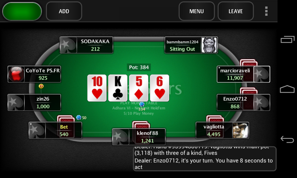 отзывы играть онлайн покер как