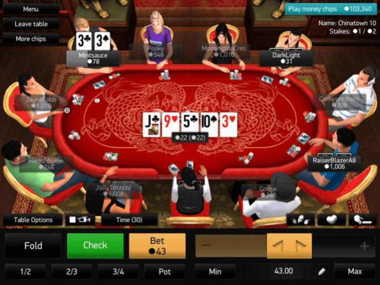 онлайн покер 3д