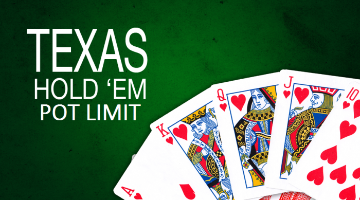 Poker fixed limit no limit pot limit