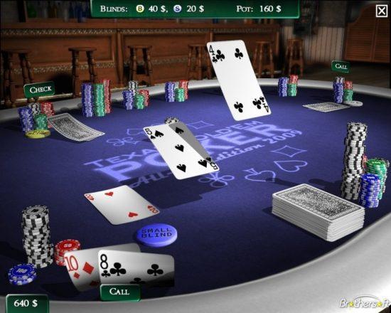 игра техасский покер онлайн на русском