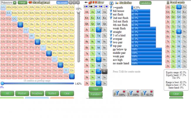 Программа для покера онлайн расчет вероятности игра ферма русская рулетка онлайн